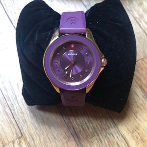 Michele Purple Watch